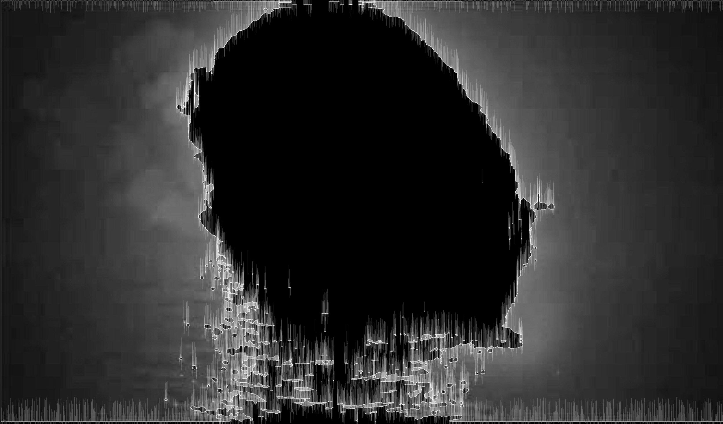 Notion of Origin, 2013, software generated digital archival print 1/9