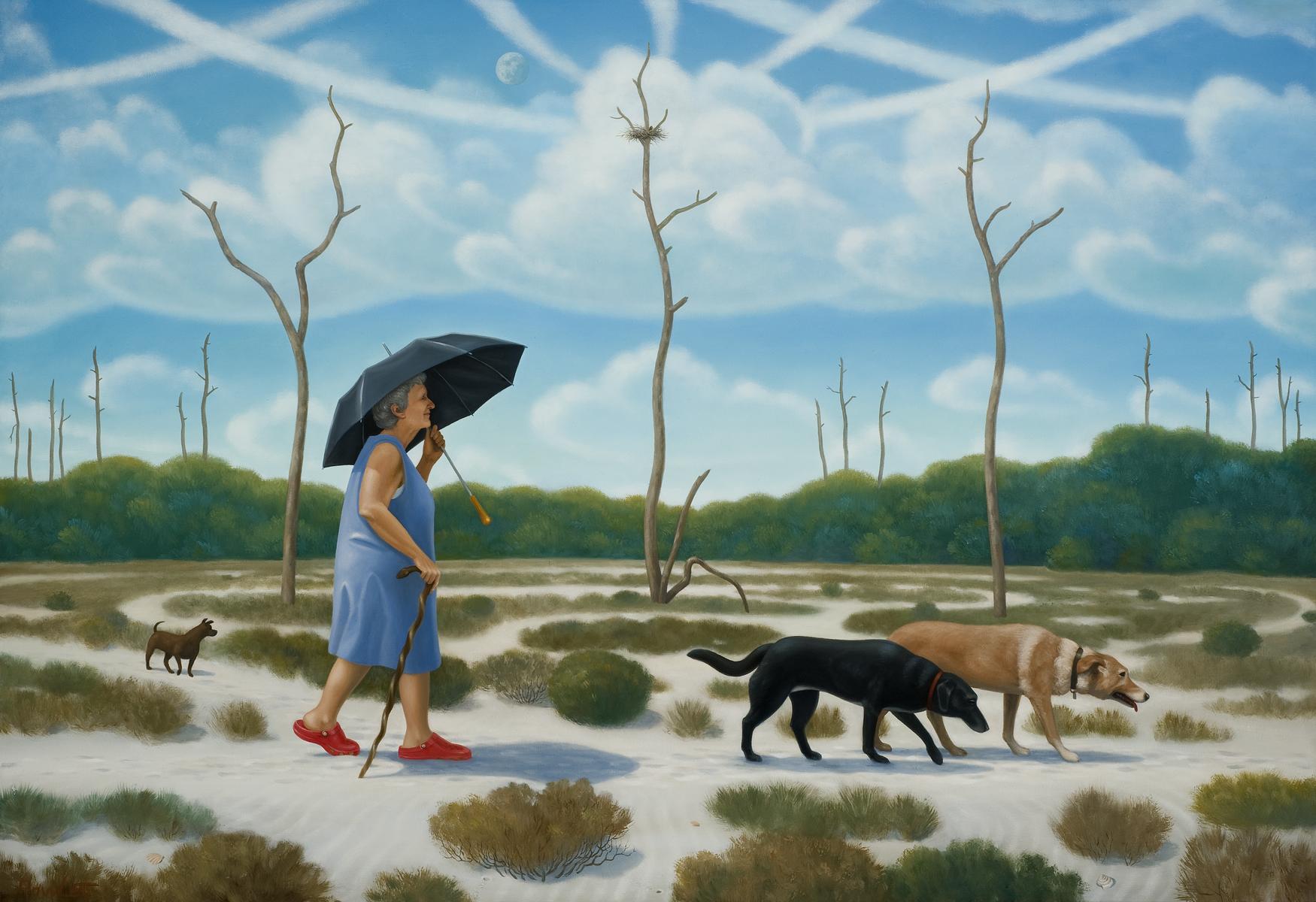 The Pilgrim's Progress   oil on canvas, 2011