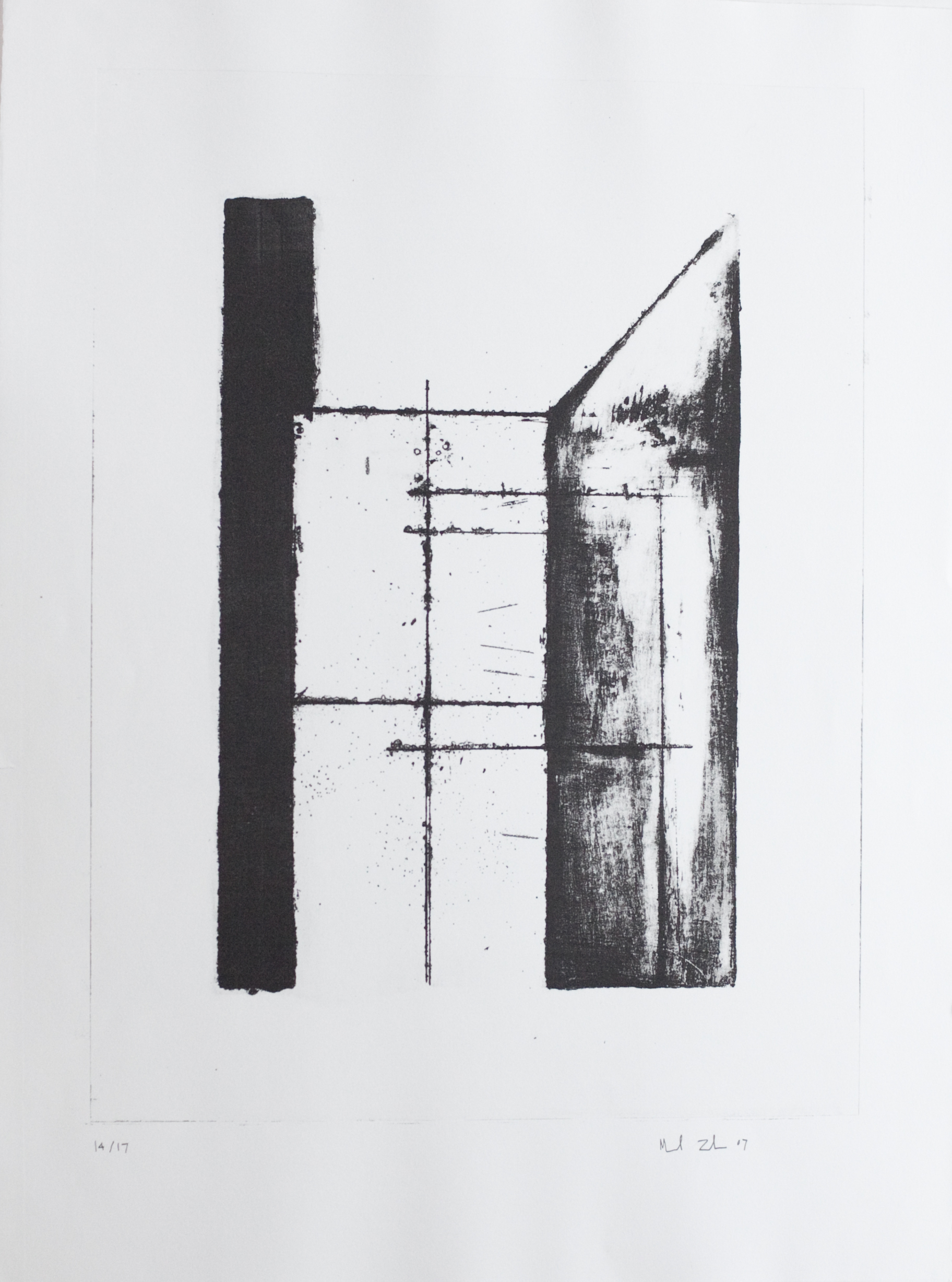 untitled   lithograph on Rives BFK Arches Printing paper, 14 of 19