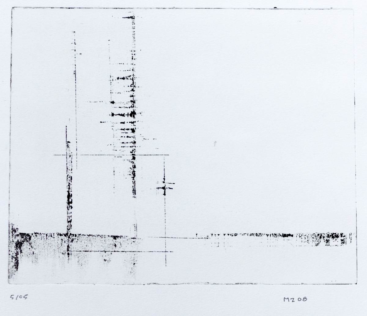 untitled   lithograph on Rives BFK Arches Printing paper, 5 of 8