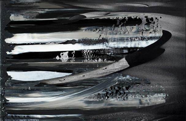 Hans Schmitt-Matzen, Aerial Maneuver 2   2011, oil on C-print