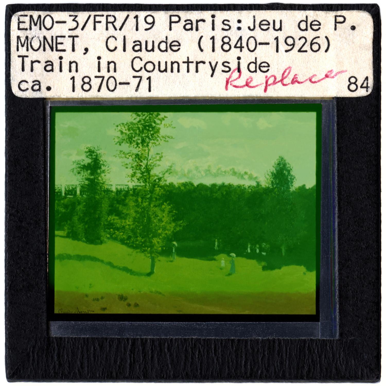 Vesna Pavlovic, Monet (Replace)  2011, C-print mounted to plexiglass