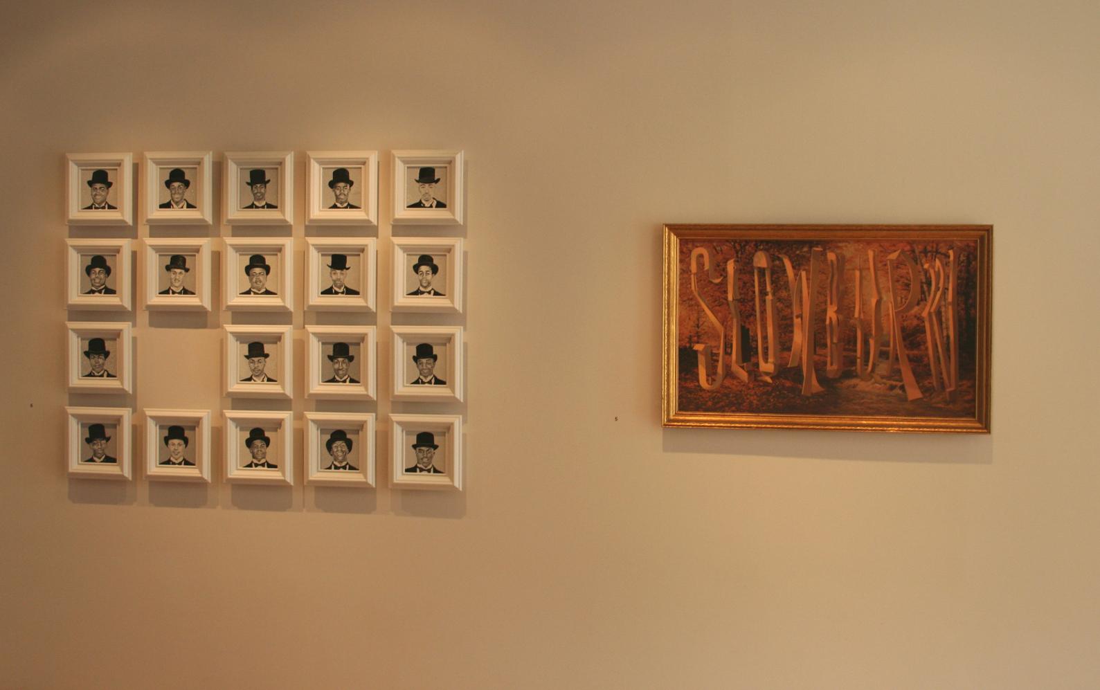 Kurt Wagner/Wayne White installation