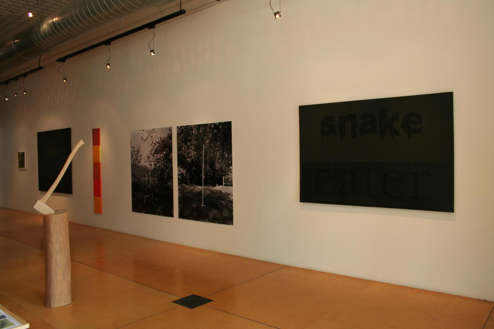 DeGuira Stewart installation, May 2011