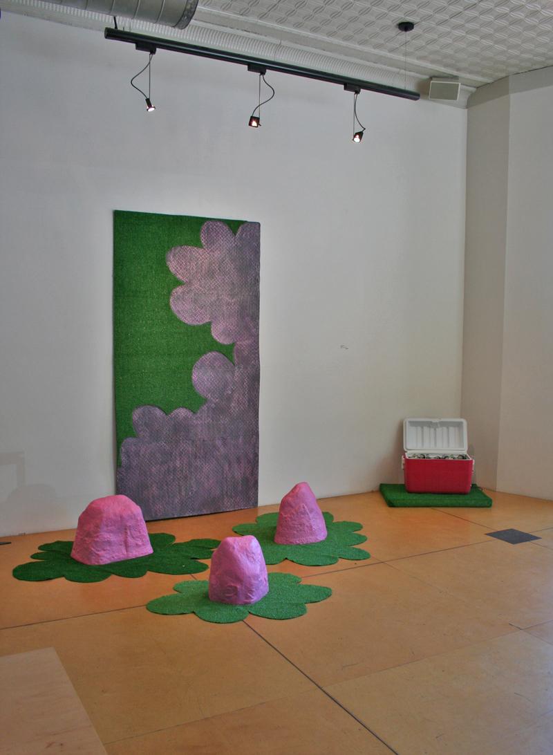 The Memphis School installation
