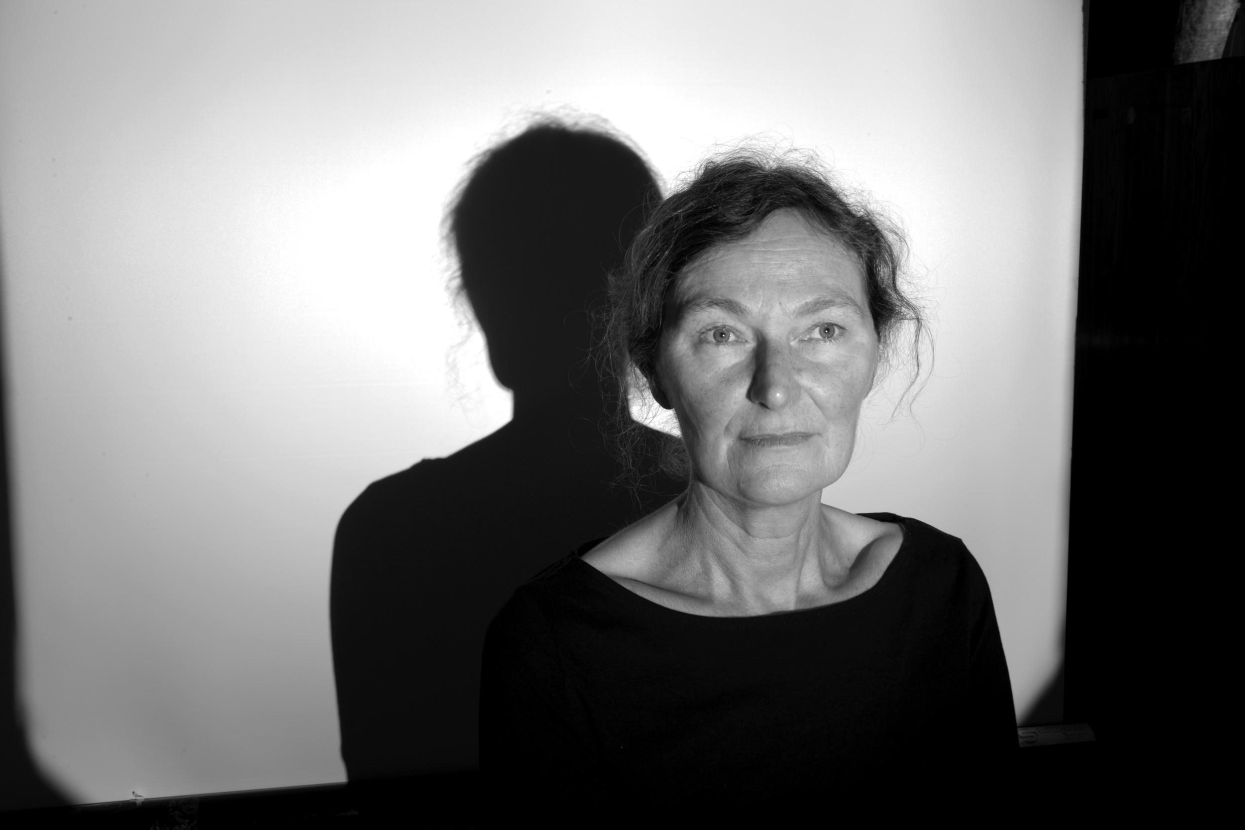 "Vesna Pavlovic, Portraits without Script: Mette  2012; Endura metallic black and white print; 20 x 30"""