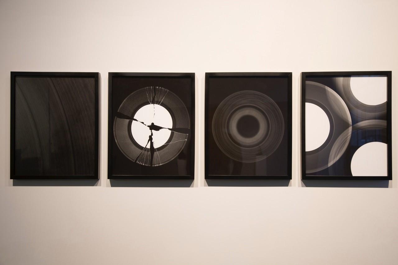 "Installation, silver gelatin prints on dibond, 16""x20"" each, 2014"