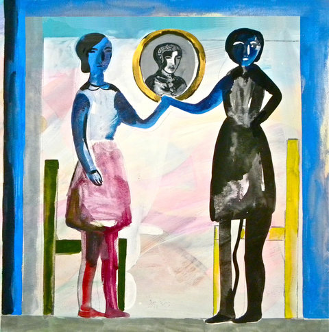 """Karen Barbour, 2014 from New York Times article """"Cousins, Across the Color Line"""""""
