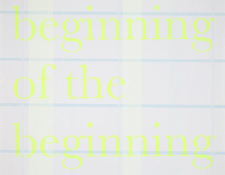 Beginning of the Beginning, 2010
