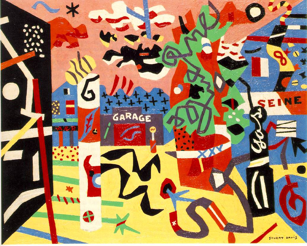 Stuart Davis - Report from Rockport, 1940