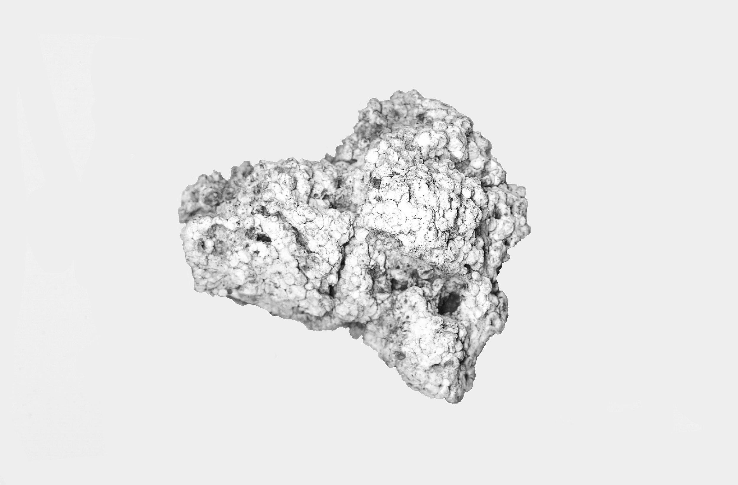 Patrick DeGuira - Seven Mile Creek - 1, 2016, Digital scan printed on Sintra, 24x30in