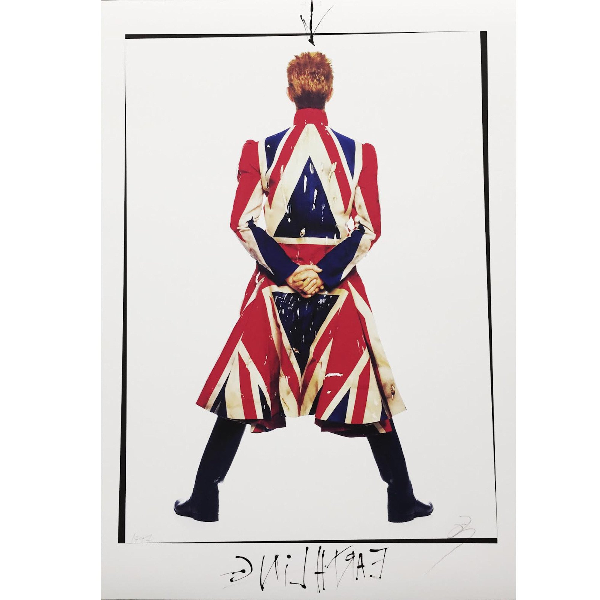 """Earthling"" David Bowie by Frank Ockenfels 3 who last showed at Zeitgeist in 2009"