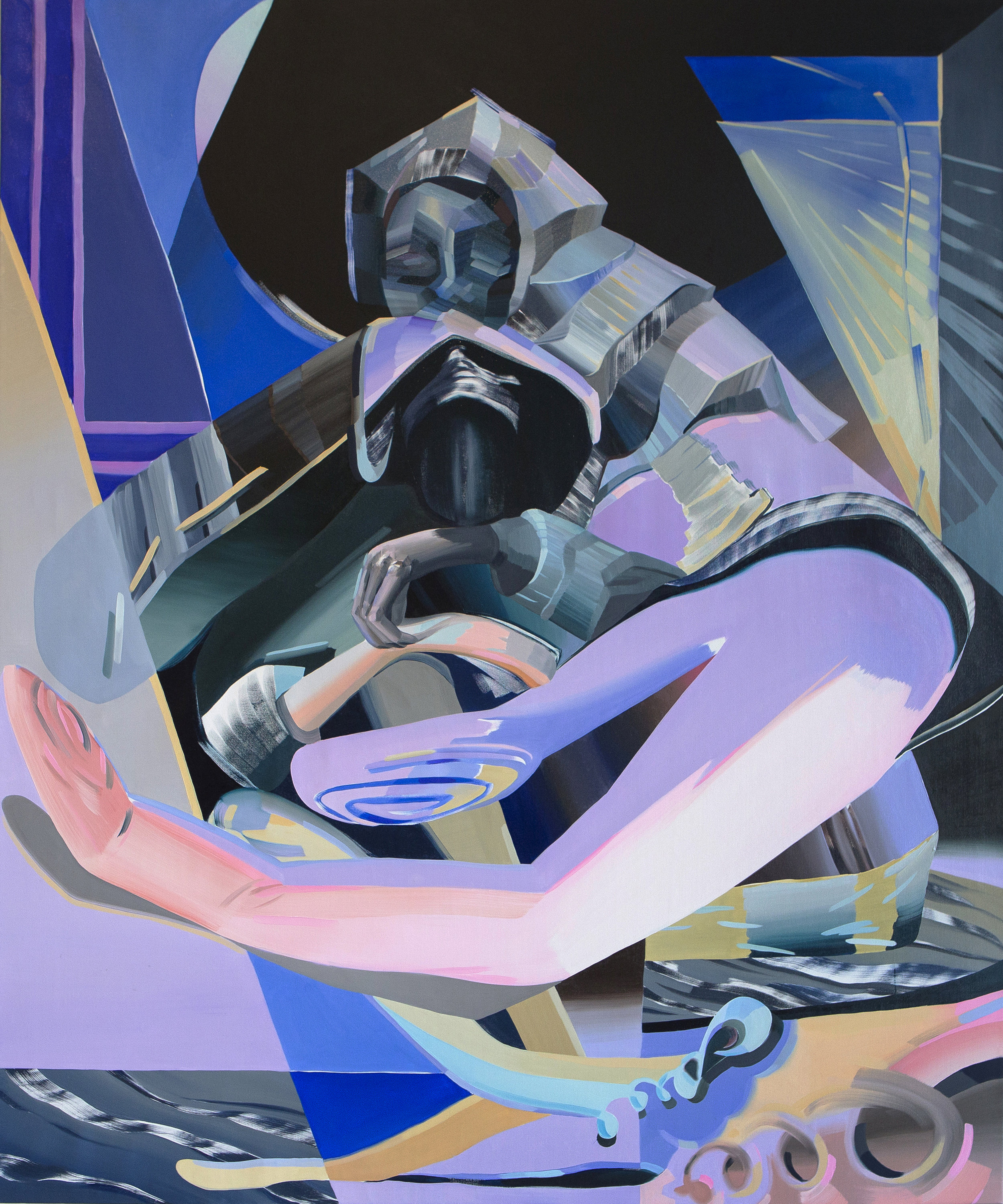 Mountain Mother (for Kollwitz), 2017, oil on canvas, 72 x 60 inches