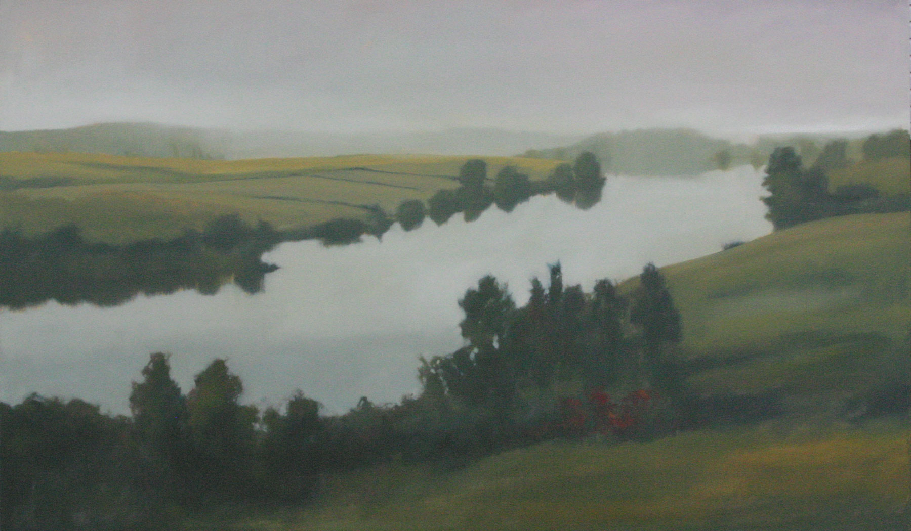 "Regeneration, oil on canvas, 36""x60"""