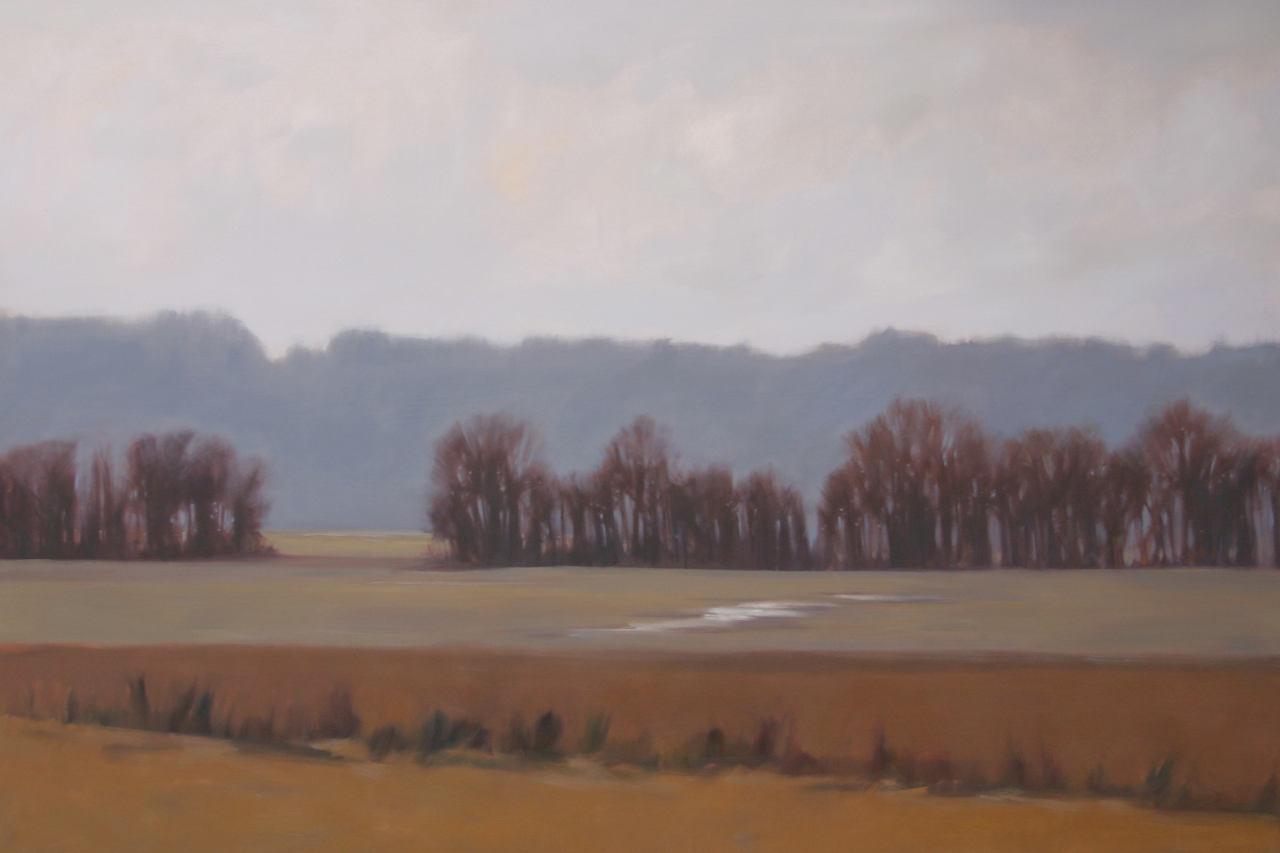 """After Harvest, 2013, oil on canvas, 48"""" x 72"""""""