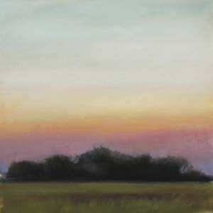 Cornelia Fort Field Study, oil on paper,12 x 12 in