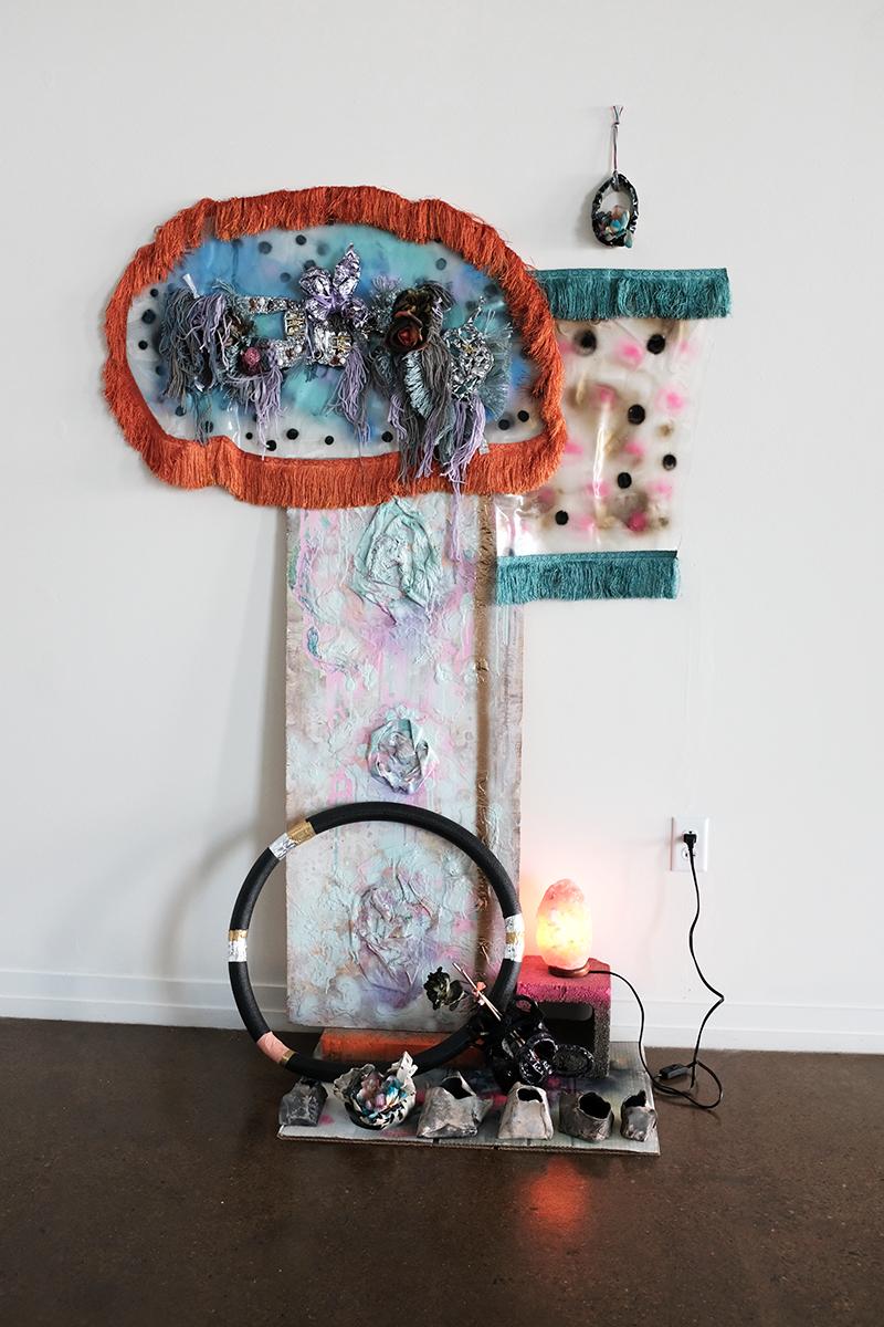 Zipporah Thompson, crystal vortex, 2019