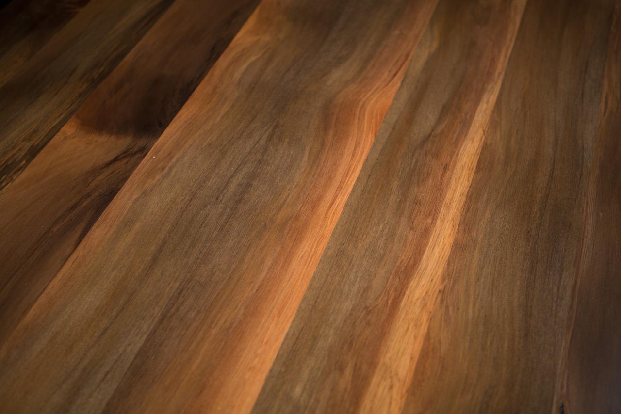 River coloured Rimu T&G flooring