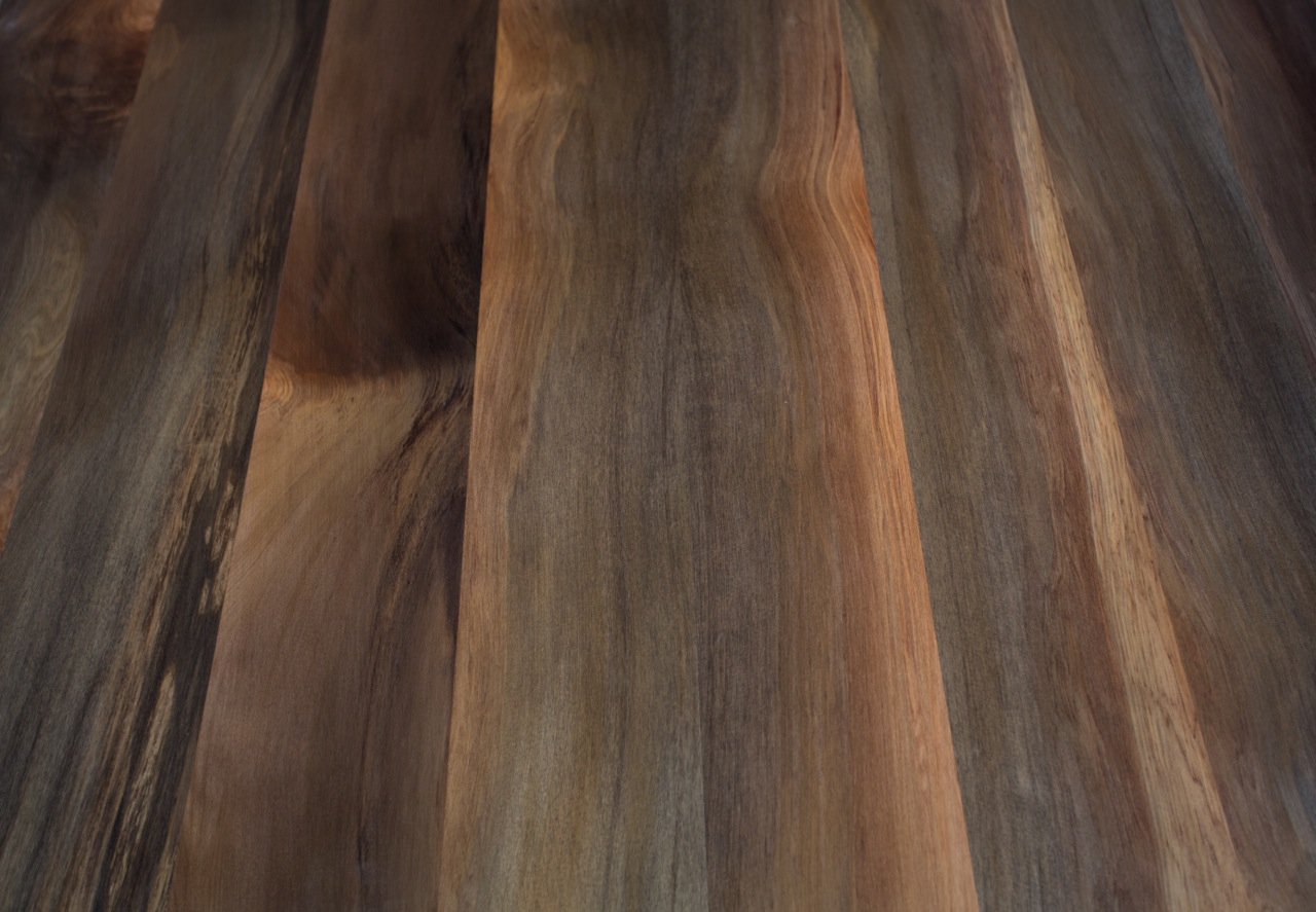 River Stained Rimu T&G Flooring example