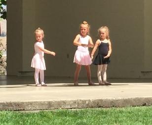 Three ballerinas