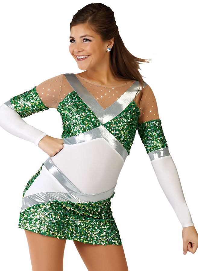 This is an example of the new Cheer costume that was chosen