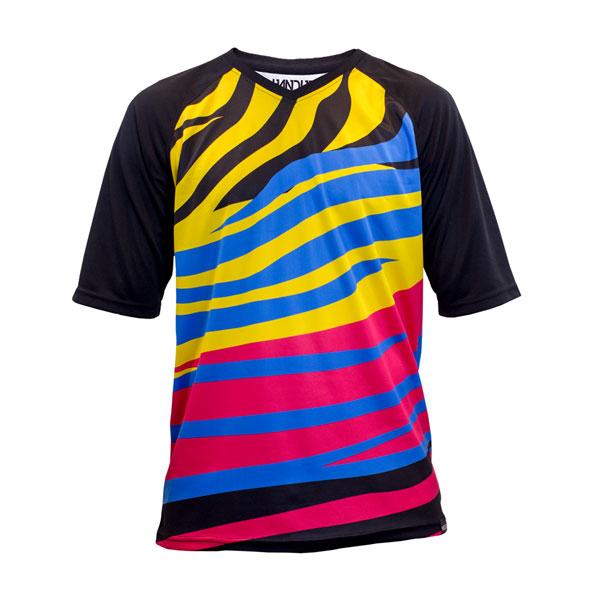 Zebra Party Short Sleeve Jersey  $38