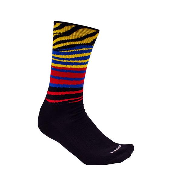 Zebra Party Tech Sock  $12