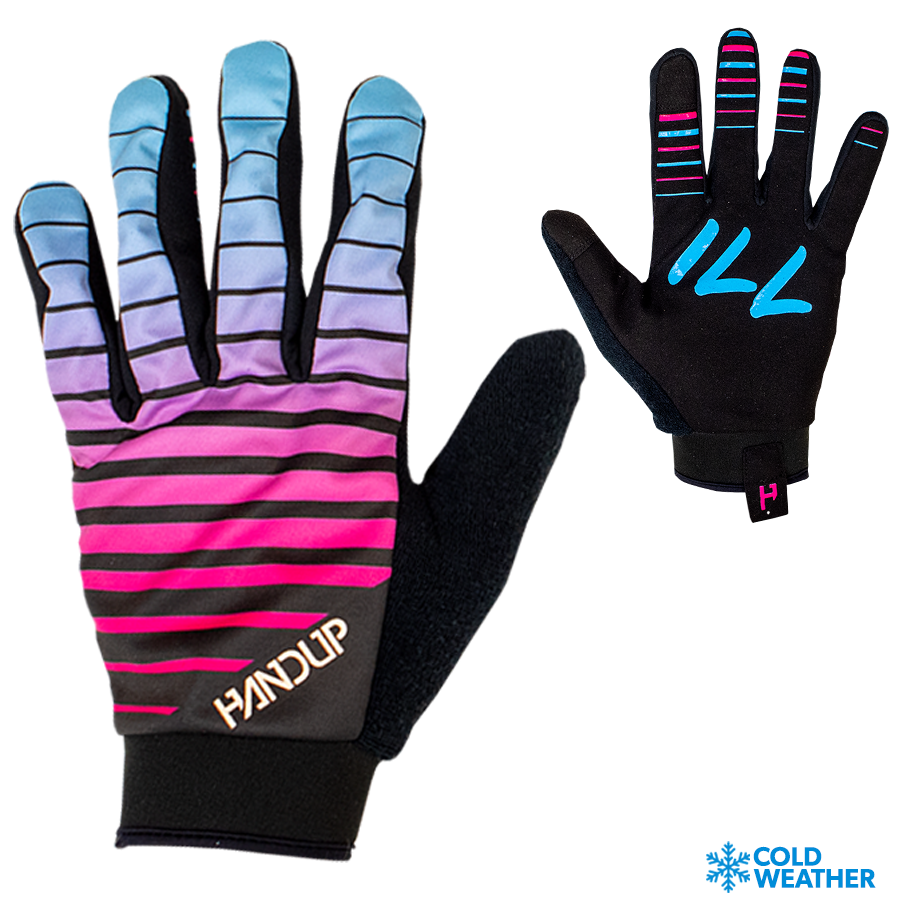 Mountain bike gloves - MTB Gloves - VIce Fade - Winter Gloves - CHill GLoves  (4) With Cold Weather Logo.png