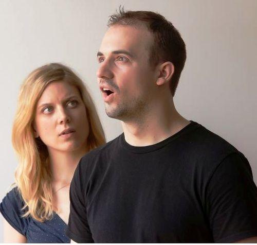 Kim McKean as Margarita and Craig Fox as Max