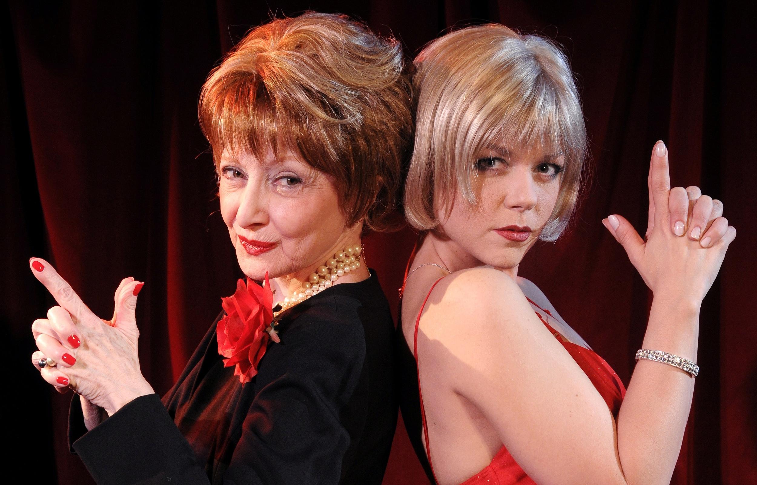 Marilyn Bernard as LIna, Jennifer Skura as Kitty