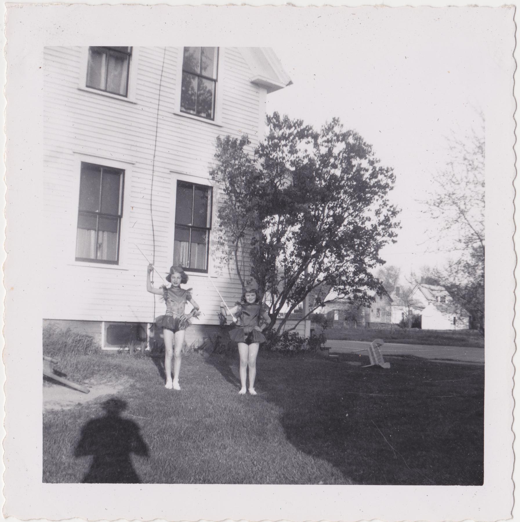 Pat and Paula, 1955