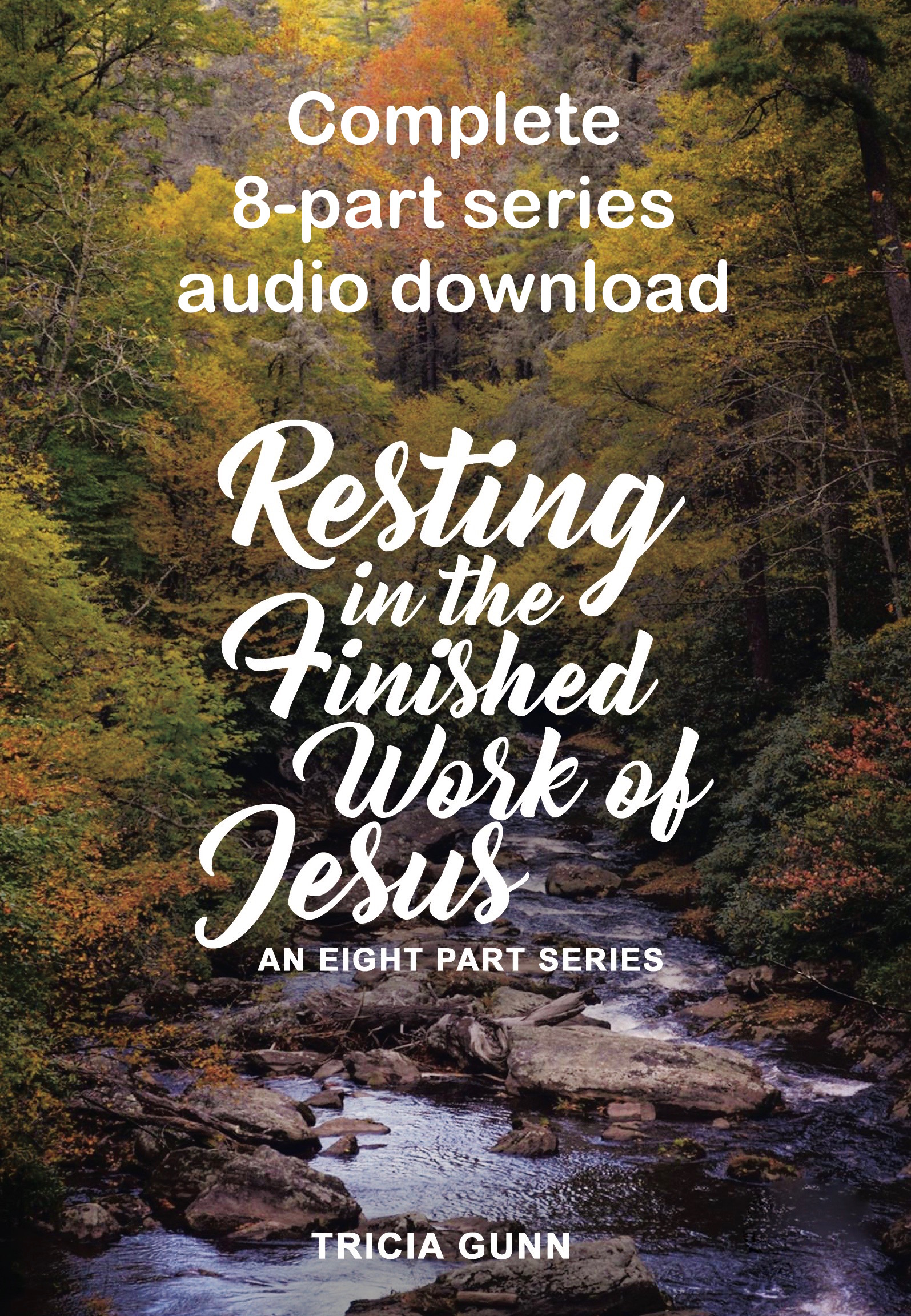 Purchase complete 8-part audio download message series