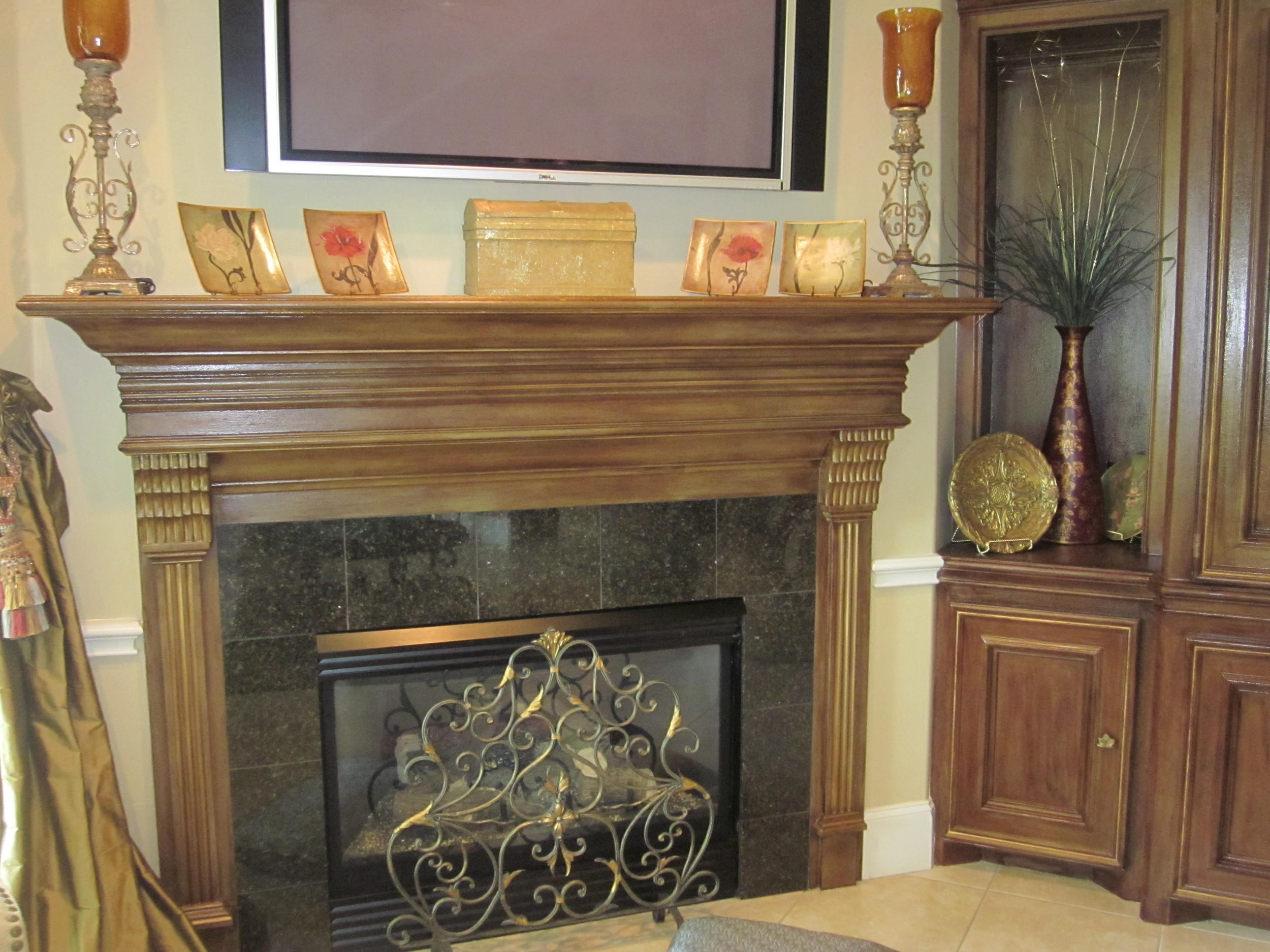 After Fireplace