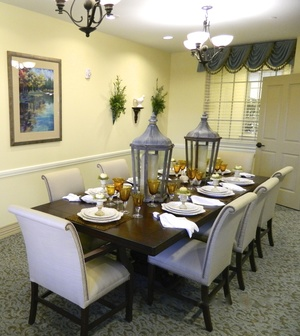 Oyster Creek Manor Dining