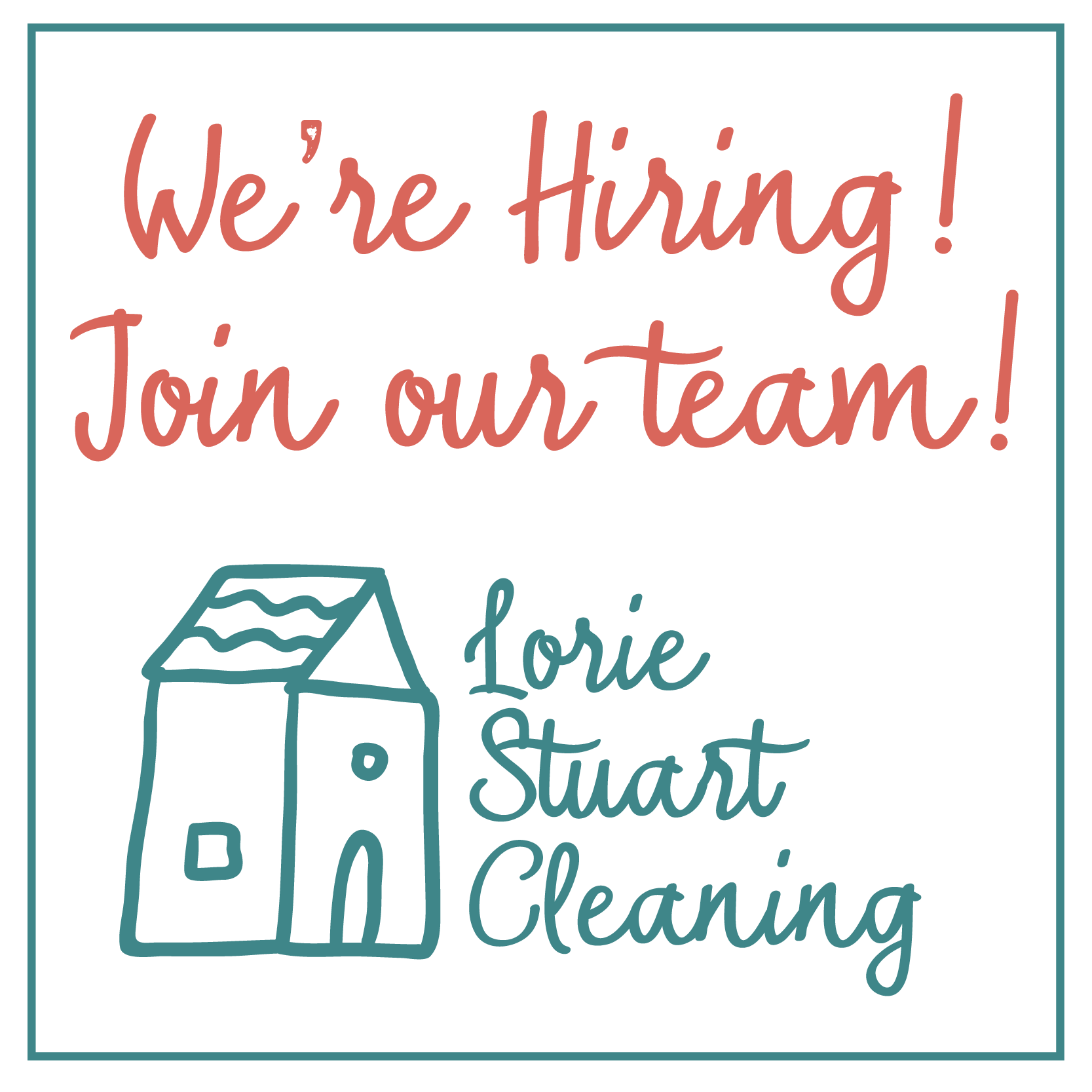 Lorie Stuart Cleaning Job Ad.png