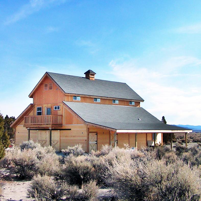 Mono Basin Barn