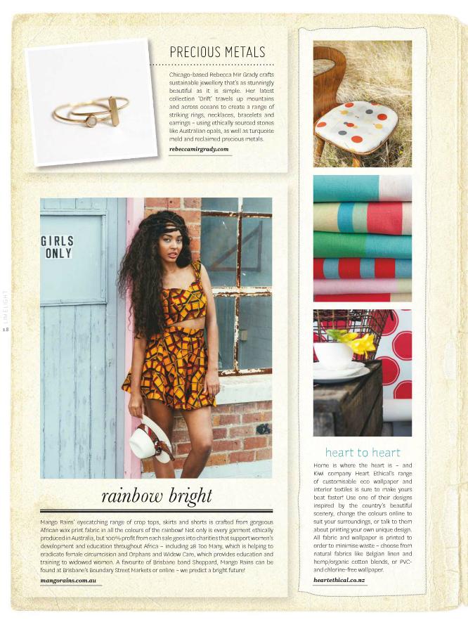 Peppermint Magazine Summer 2014 Rebecca Mir Grady