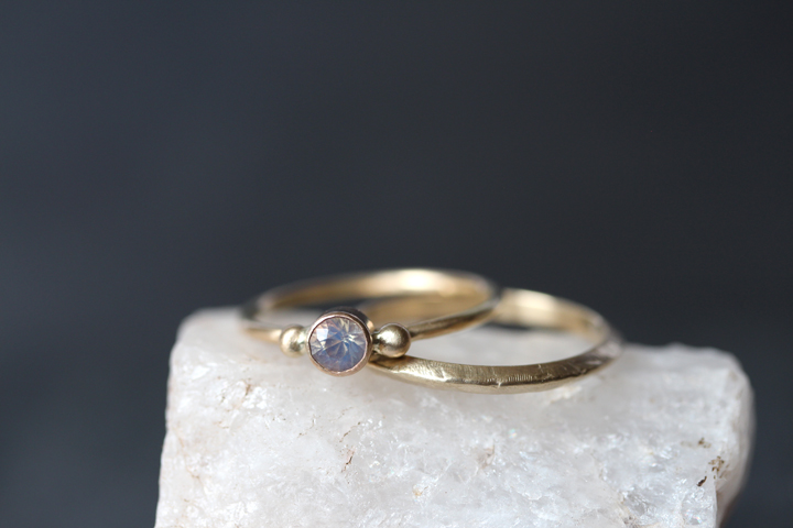 Rebecca Mir Grady 14k Opal Ring