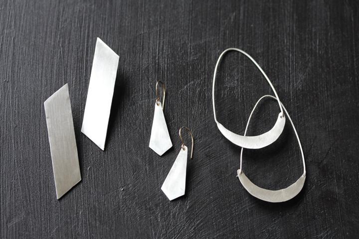 Rebecca Mir Grady Sterling Silver Earrings