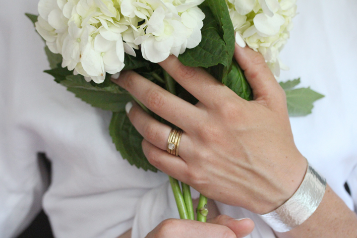 Rebecca Mir Grady 14k Gold rings