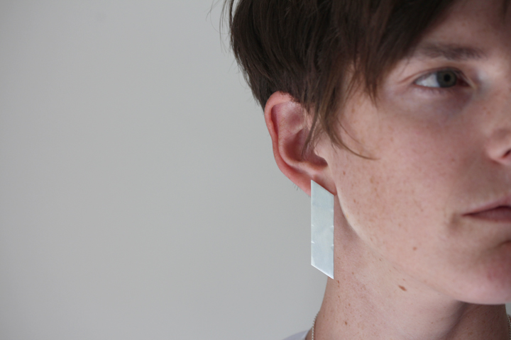 Rebecca Mir Grady Trapezoid Earrings