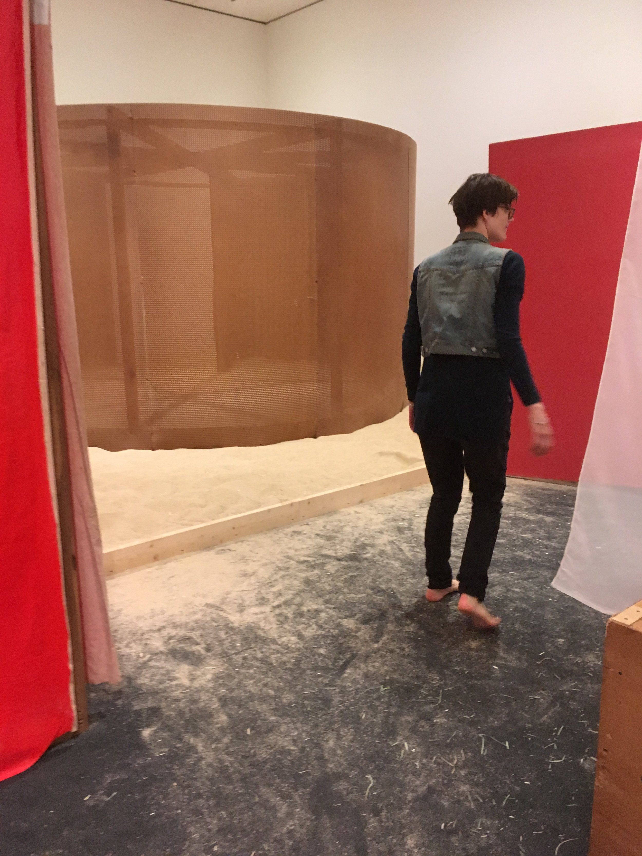 Barefoot in the museum! By far my favorite show last year was the  Hélio Oiticica  show at the  Art Institute  - it was magical!