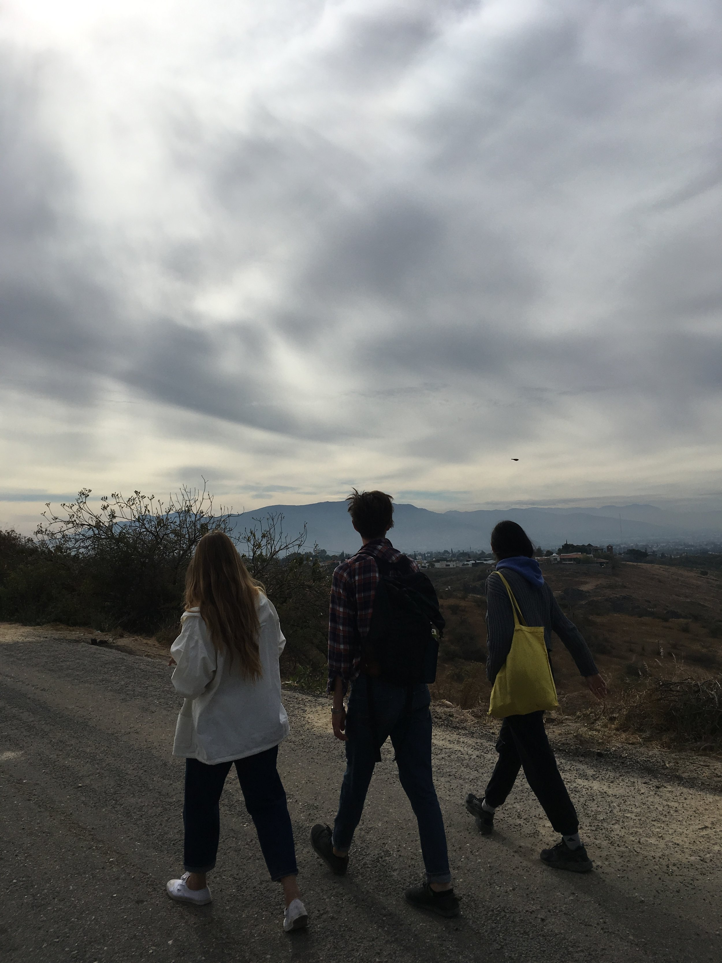 One last walk in the mountains with Jessica Chrastil and Amanny Ahmad