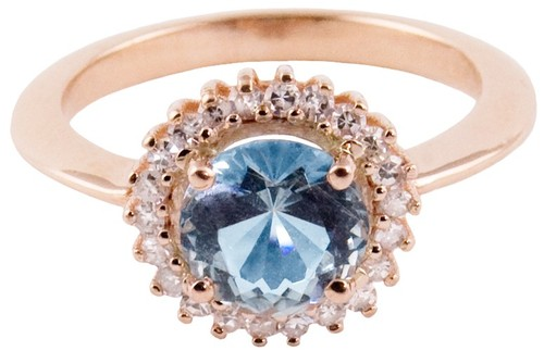 Bario Neal Sapphire Diamond ring