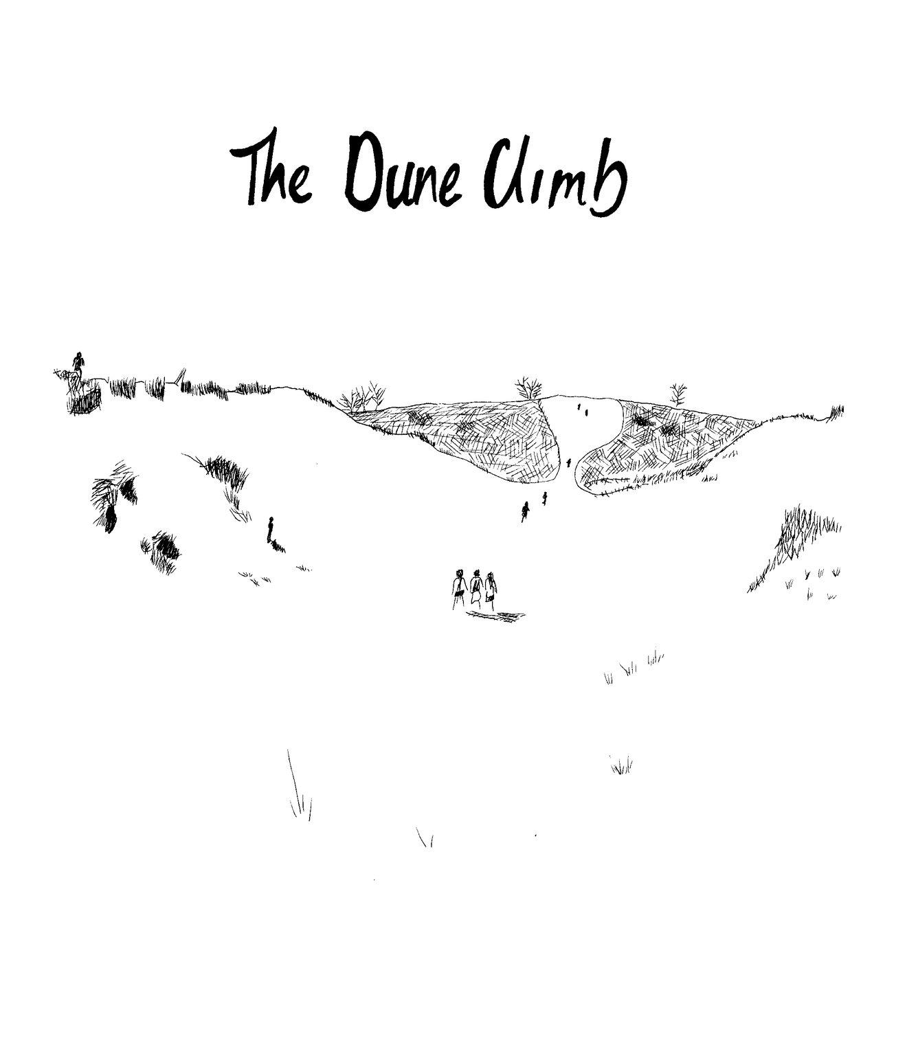 the dune climb - sleeping bear dunes Michigan - rebecca mir grady