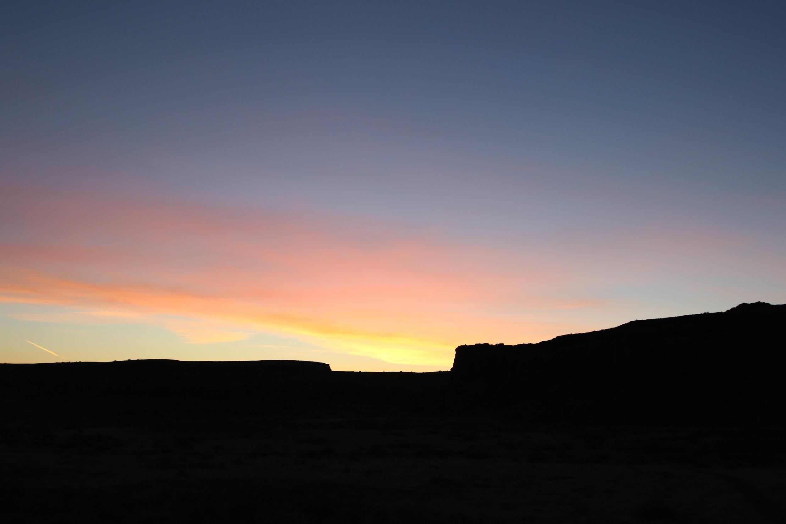 Spring Equinox Sunrise at Chaco - Rebecca Mir Grady