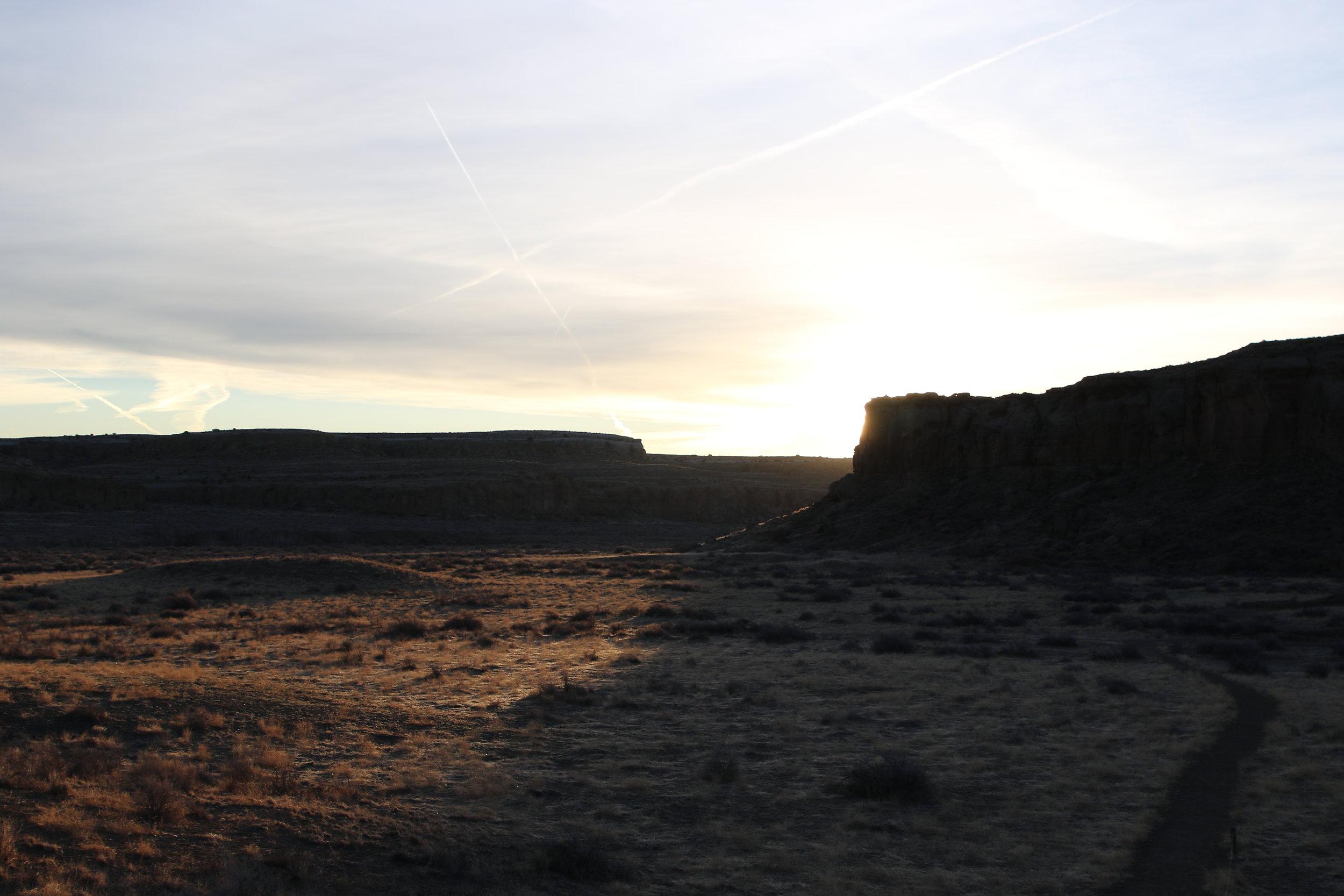 sunrise at chaco - rebecca mir grady
