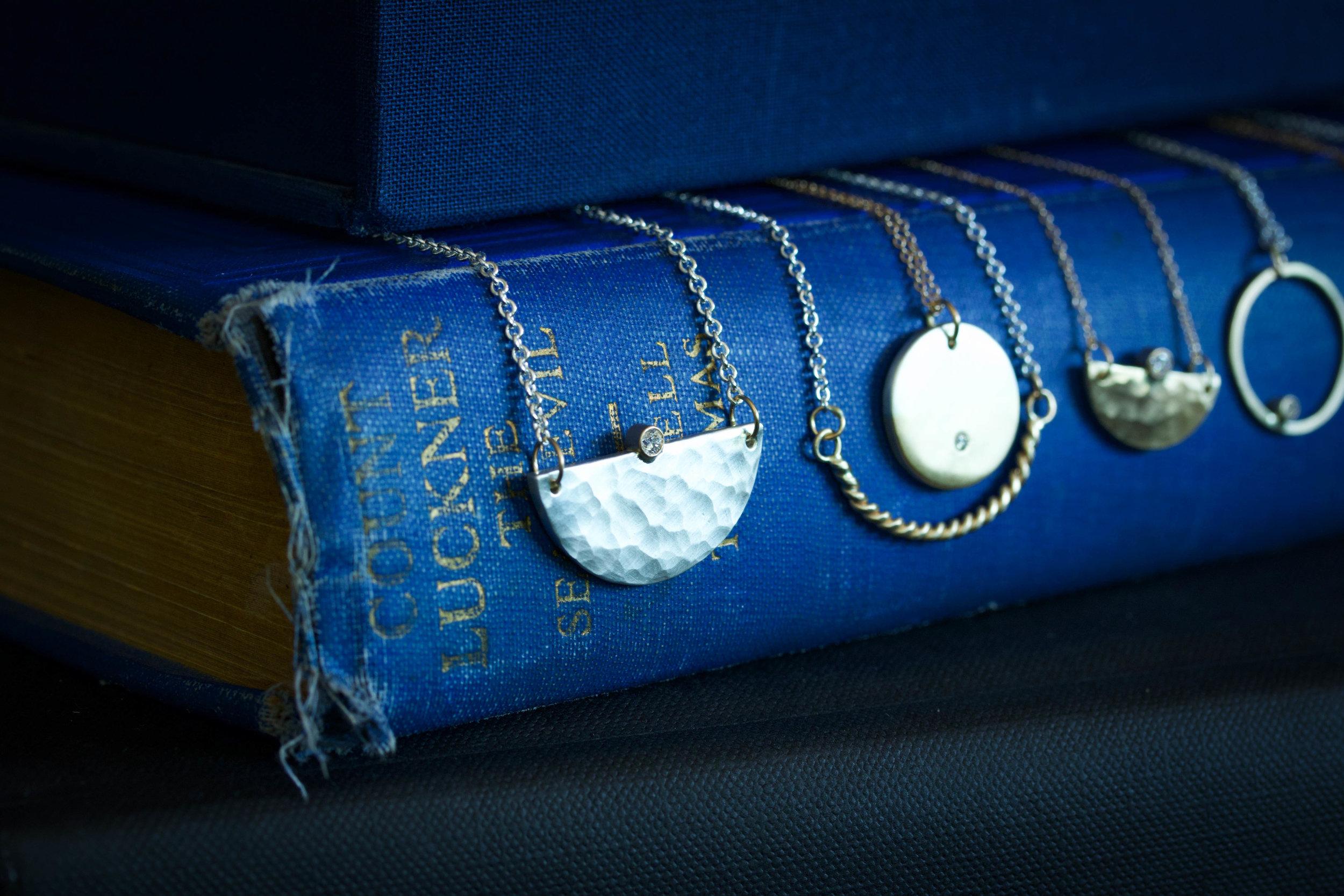 RMG Collection IX Hammered Diamond Mavericks necklace.jpg