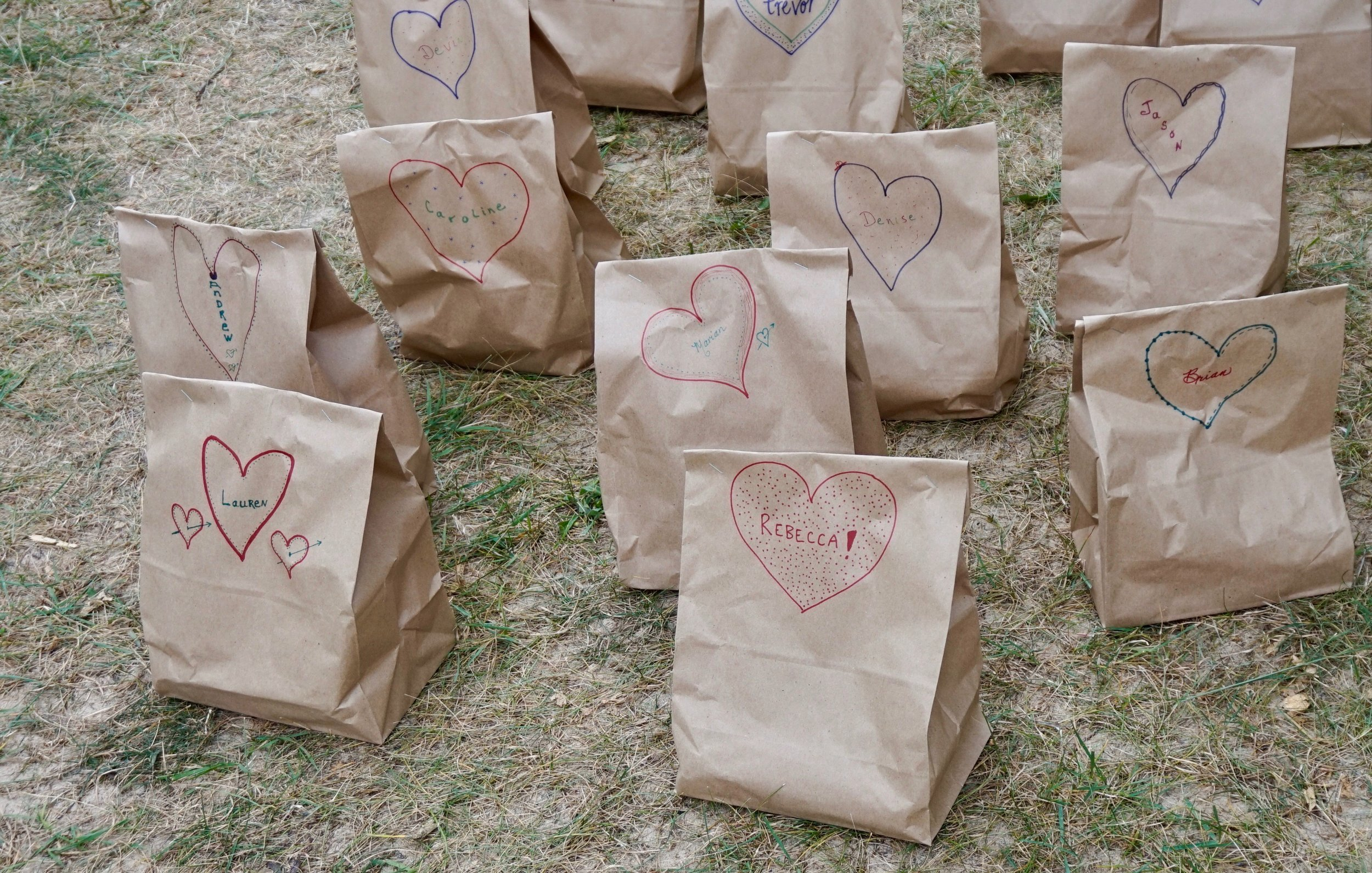wedding picnic bags