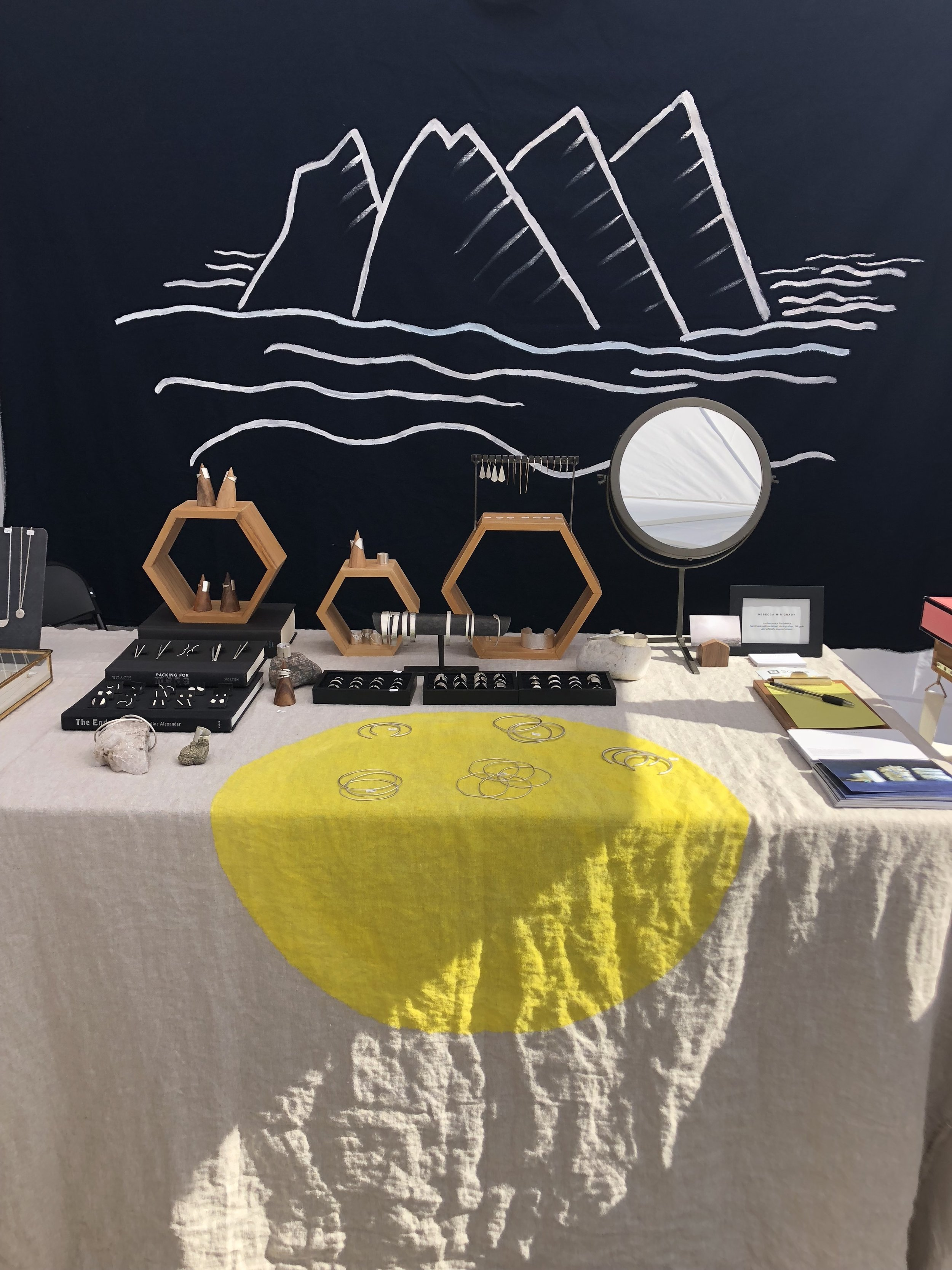 booth set up at renegade craft denver